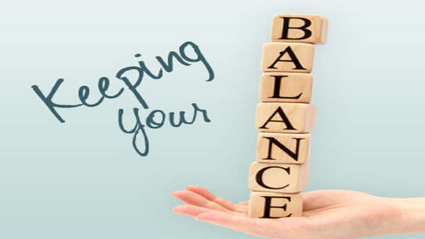 Series: Keeping Your Balance