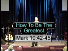 How To Be The Greatest