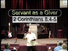 The Servant as a Giver