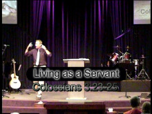 Living as a Servant