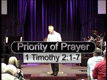 Priority of Prayer