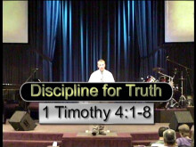 Discipline for Truth