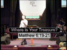 Where Are Your Treasures?