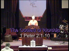 The Context of Worship